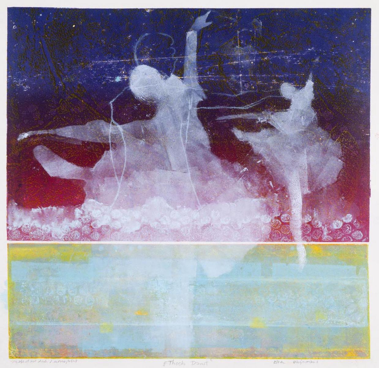 3 'Thoets Danst' monoprint